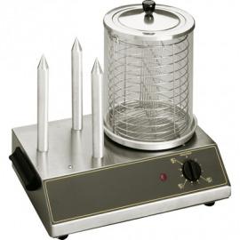 Prístroje na párky v rožku 0,65 kw, 3 špízy