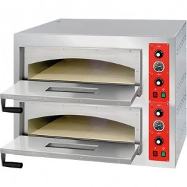Pizza pece dvojkomorové 8 x 32 cm rozmery. ext. 2x 658x678x145 mm vonkajšie rozmery. 975x761x753 mm
