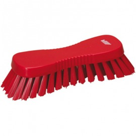 tvrdá Kefa dosky 185x65x53 mm, 33 mm červené vlasy